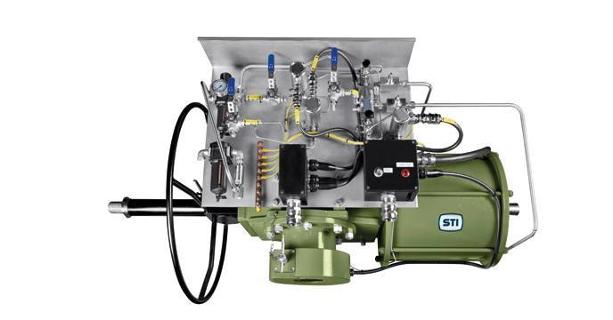 rtq角行程执行机构具有气动和液压两种版本